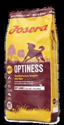 Корм Josera Optiness Йозера Оптінес для дорослих собак без кукурудзи з ягням 15 кг к|д