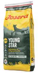Корм Josera Young Star Йозера Янг Стар беззерновой для цуценят з птицею і картоплею 15 кг  к|д