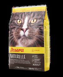 Корм Josera Naturelle Adult Sterilised Йозера Натюрел беззерновий для стерилізованих кішок 10 кг к|д