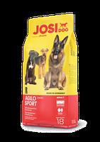 Корм Йозера Аджило Спорт Josera Agilo Sport для собак 18 кг 6 талб Дронтал та безкоштовна доставка
