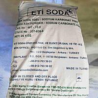 Сода кальцинированная техническая в мешках по 25 кг