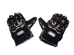 Перчатки PRO BIKER MCS-01 (size: XL, черные), фото 2