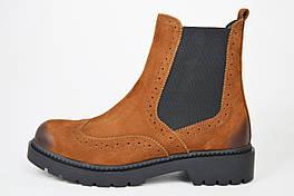 Ботинки челси замшевые Donna Style 251 коричневые