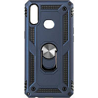 Чехол противоударный Honor Hard Defence для Huawei Y6s 2019 / Y6 Prime 2019 / Honor 8a Blue
