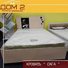 Ліжко двоспальне Сага