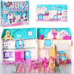 Кукольный Домик 1205CD Doll House. Фигурки, мебель 2 вида