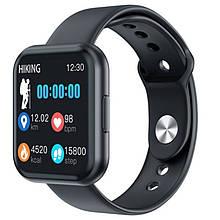 Смарт часы Smart Watch T88, два браслета, black