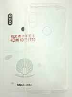 Чохол для Xiaomi Redmi Note 6/Note 6 Pro прозорий