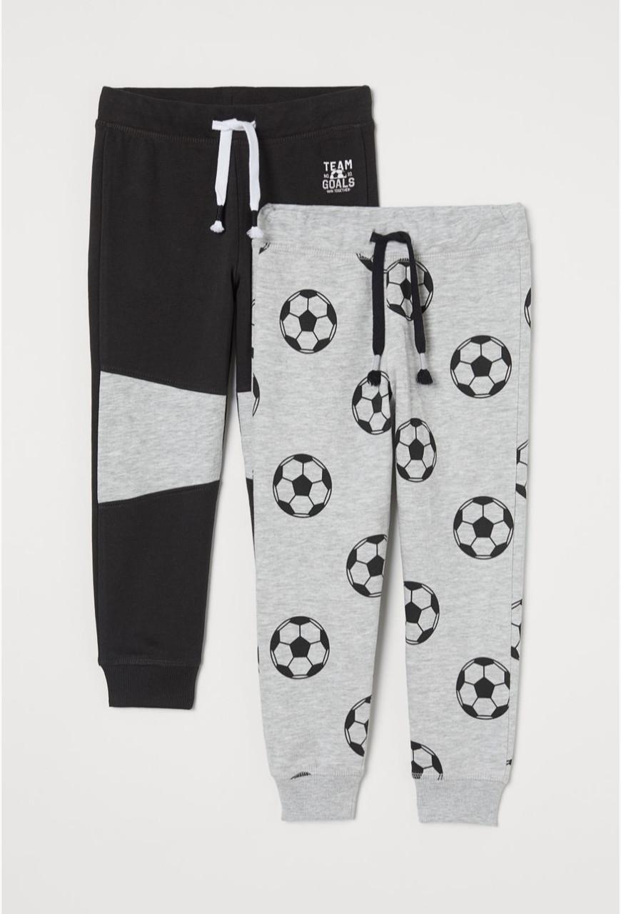 Спортивные штаны неутепленные H&M (Швеция) р.92, 98, 104, 110, 116, 122, 128, 134см