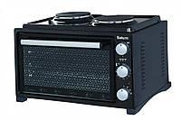 Духовка электрическая SATURN ST-EC10703 Black , 36 литров, Встроенная плита
