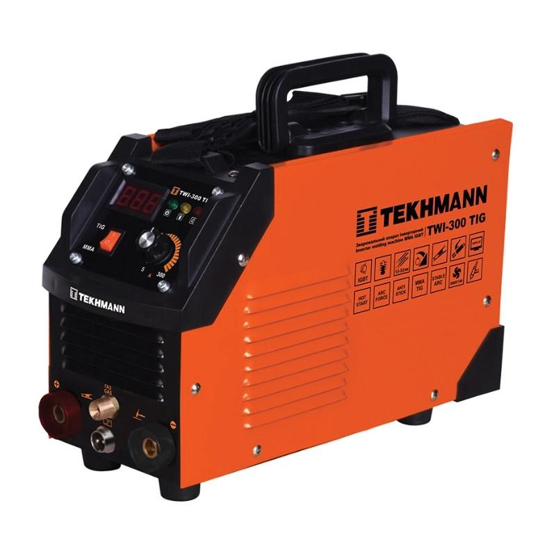 Зварювальний апарат інверторний tekhmann twi-300 tig