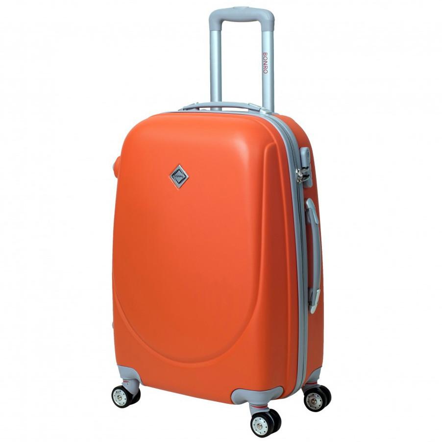 Дорожный чемодан на колесах Bonro Smile большой с двойными колесами