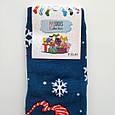 Махрові шкарпетки жіночі бірюзові з мишком 35-41 розмір, фото 3