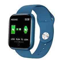 Смарт часы Smart Watch T80S, blue, два браслета, температура тела