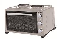 Духовка электрическая SATURN ST-EC10703 Gray , 36 литров, Встроенная плита
