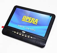 "Портативный телевизор Opera 901 9.5"" Т2 USB SD Black (4_00033)"