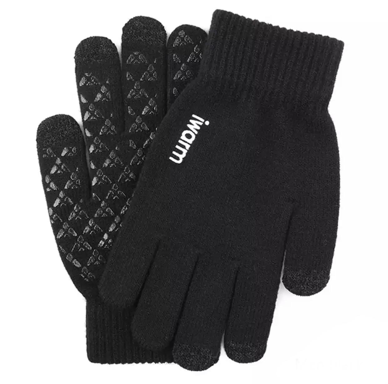 Перчатки мужские зимние сенсорные