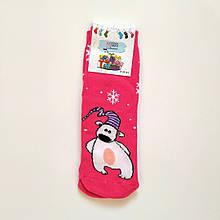 Теплі махрові шкарпетки жіночі з мишком 35-41 розмір