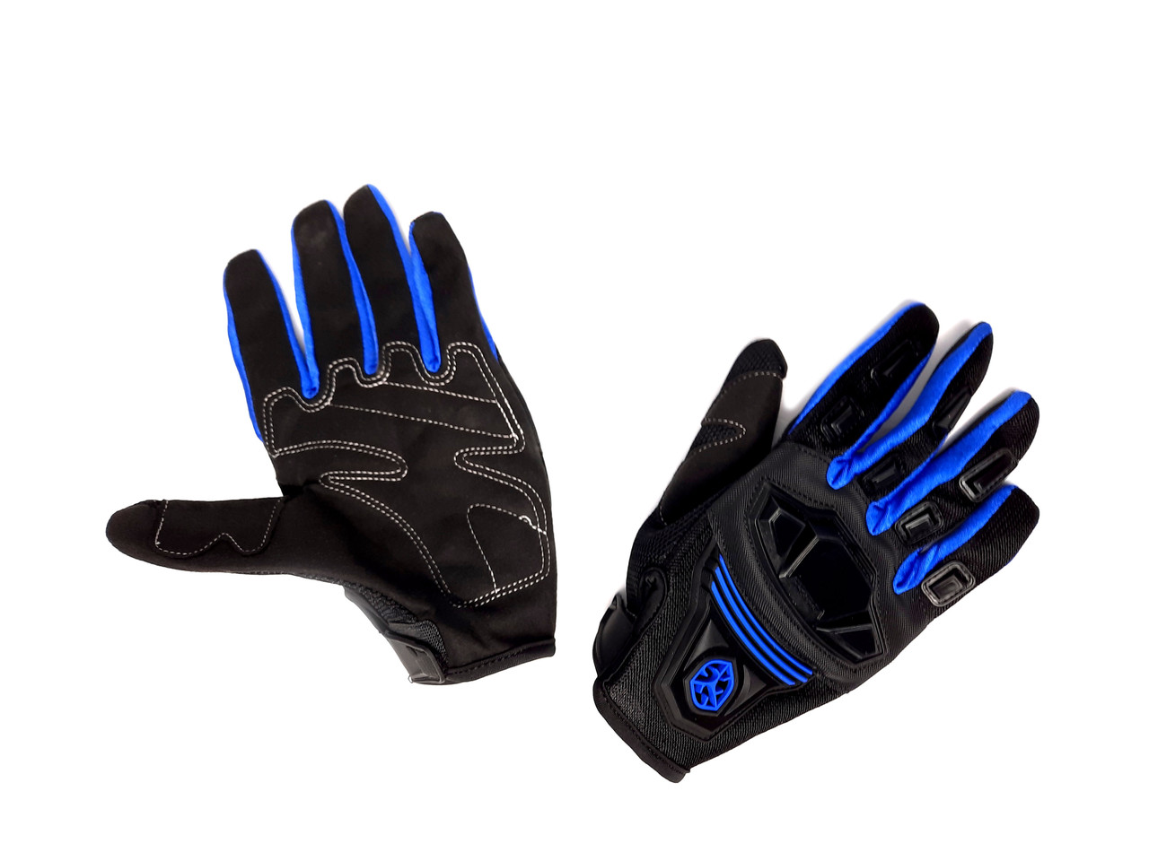 Перчатки SCOYCO MC-24 (size:M, синие, текстиль)