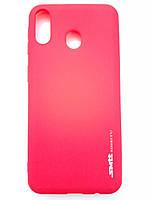 Чехол силиконовый SMTT для Samsung M20 красный