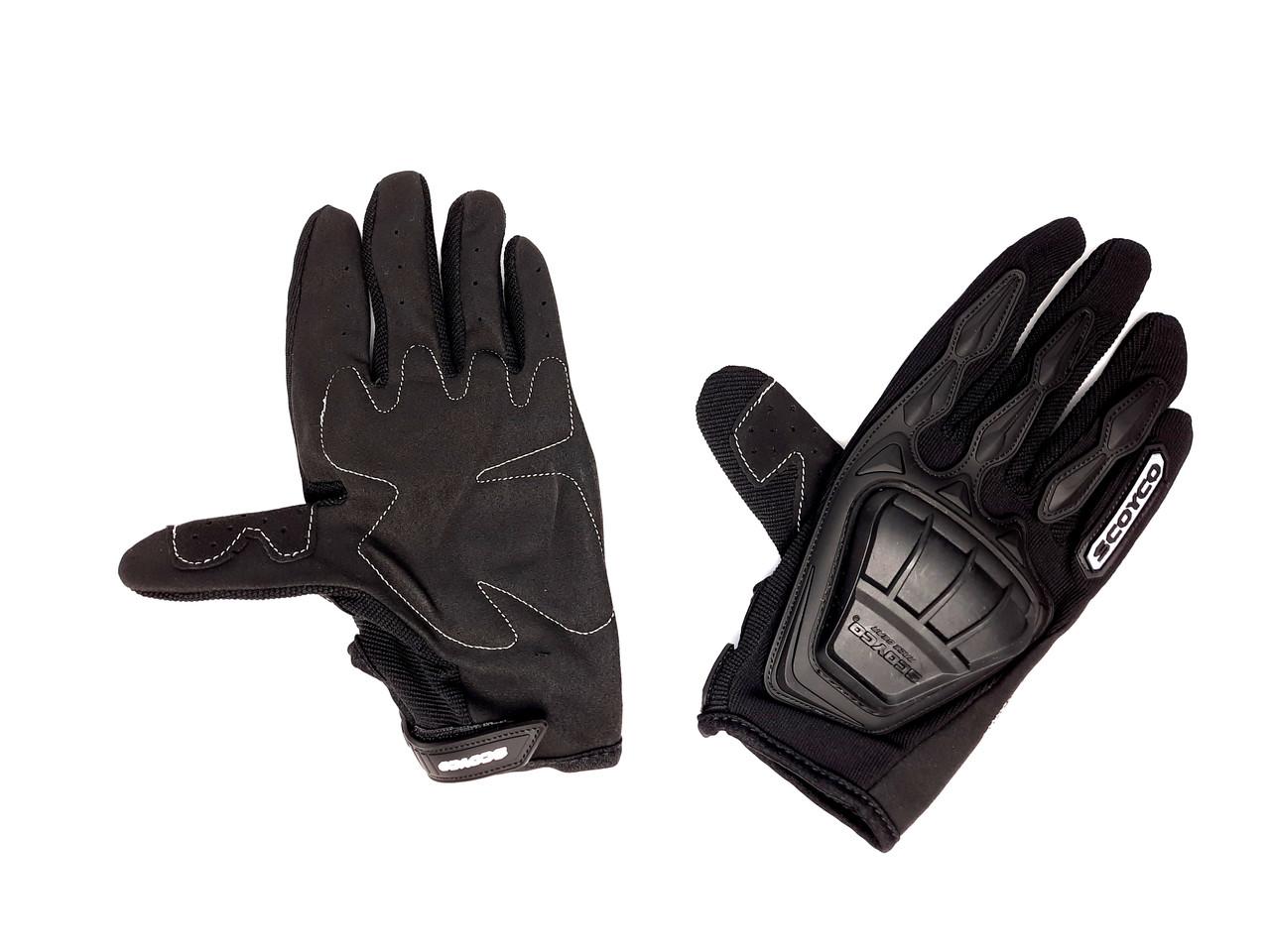Перчатки SCOYCO MC-08 (size:L, черные, текстиль)
