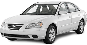 Брызговики для Hyundai (Хюндай) Sonata 5 (NF) 2004-2009
