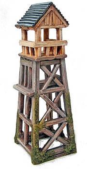 Декор в аквариум Охотничья башня 8*8*22,2 см Croci Amtra