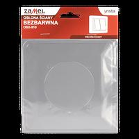 Рамка под выключатель Zamel одинарная прозрачна OSX-910-BZB