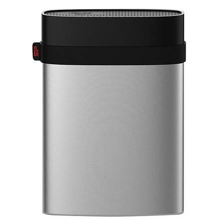 "Внешний жесткий диск Silicon Power 2TB 2.5 ""USB 3.2 Armor A85 Metal Silver (SP020TBPHDA85S3S), фото 2"
