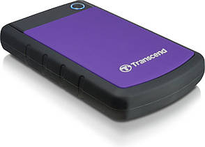 "Внешний жесткий диск Transcend StoreJet 2TB 2.5 ""USB 3.1 StoreJet 25H3 Purple (TS2TSJ25H3P), фото 2"