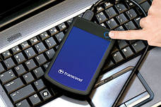 "Внешний жесткий диск Transcend StoreJet 4TB 2.5 ""USB 3.1 StoreJet 25H3 Blue (TS4TSJ25H3B), фото 2"