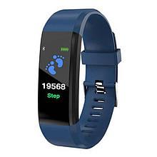 Фітнес-браслет ID115, синій