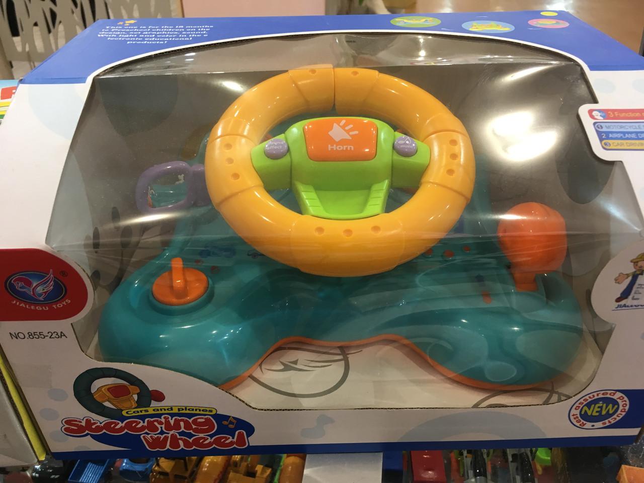 Детская игрушка Руль муз.08180