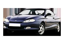 Брызговики для Hyundai (Хюндай) Tiburon Coupe (RD) 1996-2002
