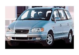 Брызговики для Hyundai (Хюндай) Trajet 1999-2007
