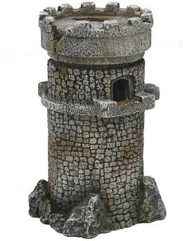 Декор в аквариум Романская башня M 10*10*18 см Croci Amtra
