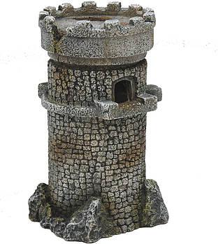 Декор в аквариум Романская башня L 18*18*24 см Croci Amtra
