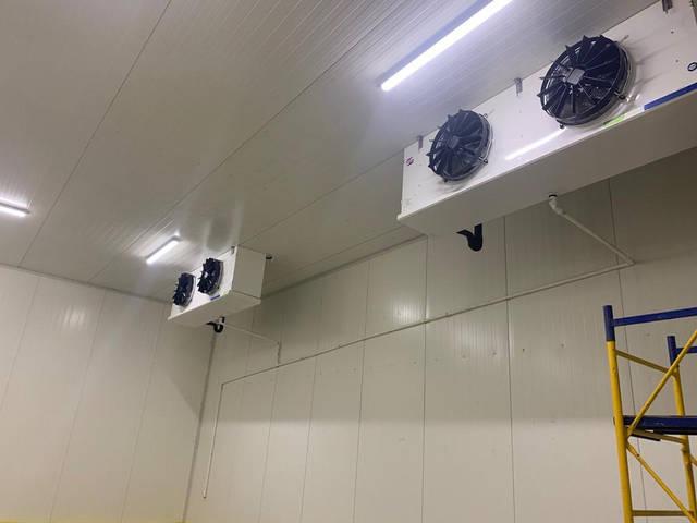 Камеры для охлаждения и хранения черешни. Мелитопольский р-н., с.Терпение. 20