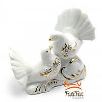 Статуэтка фарфоровая пара белых голубей