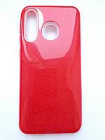Чохол для Samsung A30 червоний shine