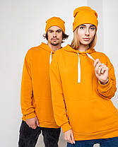 Парні ХУДІ UNISEX помаранчевий колір, фото 3
