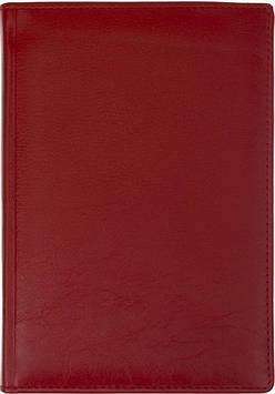 """Щоден. А5 """"Optima"""" недат Cabinet Napa №O25420-03 шкіра,червоний"""
