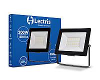 Светодиодный прожектор Lectris 200W 16000Лм 6500K 185-265V IP65 1-LC-3007