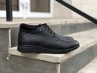 Замшеві чоловічі черевики арт 3589 розміри 43,44, фото 1