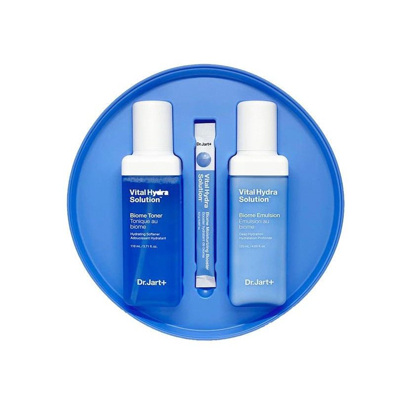 Набір зволожуючих засобів для обличчя Dr.Jart + Vital Hydra Solution Skincare Duo Set 3 шт