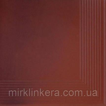 Клинкерная ступень Cerrad Country wishnia угловая, фото 2