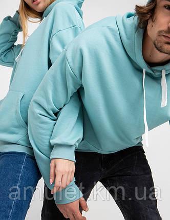 Парные ХУДИ  UNISEX мятный цвет, фото 2