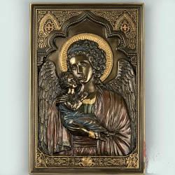 Панно на стену икона Veronese Мария с младенцем 23 см 76615