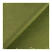 Ткань хлопок однотонная оливковая