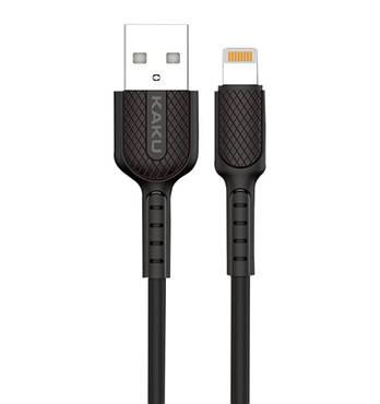 USB кабель Kaku KSC-111 USB - Lightning 1m - Black
